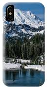 Mount Rainier - Tipsoo Lake IPhone Case
