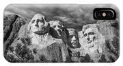 Mount Rushmore II IPhone X Case