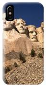 Mount Rushmore National Monument South Dakota IPhone Case