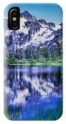 Mount Shuksan And Picture Lake IPhone Case