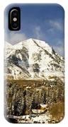 Mount Timpanogos IPhone Case