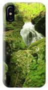 Mount Toby Roaring Falls Ravine IPhone Case