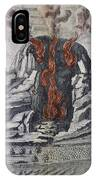 Mount Vesuvius, 1665 IPhone Case