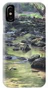 Mountain Creek Nature Spring Scene IPhone Case