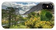 Mountain Flora IPhone Case