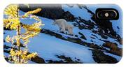 Mountain Goat And Larches IPhone X Case