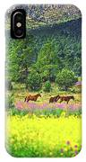 Mountain Horses IPhone Case