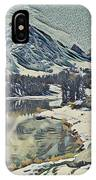 Mountain Lake, California IPhone Case