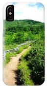 Mountain Path 3 IPhone Case