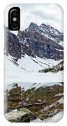 Mountain Picture Lake Agnes IPhone Case