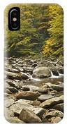 Mountain Stream  6058 IPhone Case