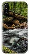 Mountain Stream Iv IPhone Case