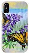 Mountain Swallowtail IPhone Case