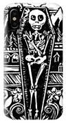Mountain Town Skeleton IPhone Case