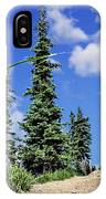 Mountain Trail - Olympic National Park IPhone Case