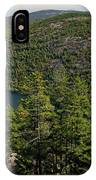 Mountain View, Acadia National Park IPhone Case
