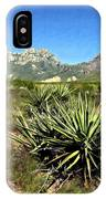 Mountain View Las Cruces IPhone Case