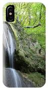 Mountain Waterfall Spring Nature Scene IPhone Case