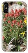 Mountain Wild Flowers IPhone Case