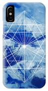 Mountains, Clouds And Geometry IPhone Case