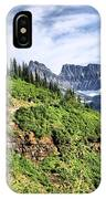 Mountains In Glacier National Park 1 IPhone Case