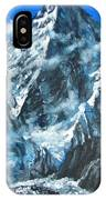 Mountains View Landscape Acrylic Painting IPhone Case