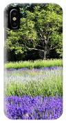 Mountainside Lavender Farm IPhone Case