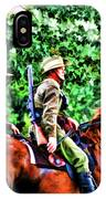 Mounted Infantry IPhone Case