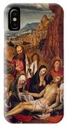 Mourning Over The Dead Body Of Christ IPhone Case