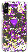Moveonart Abstract Visual Therapy With Purple Heart IPhone Case