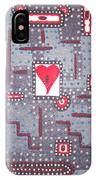 Moveonart Heart Connection IPhone Case