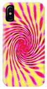 Moveonart Neon Twist 1 IPhone Case