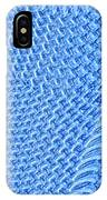 Moveonart Turquoise Knit IPhone Case