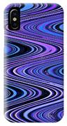 Moveonart Waves In Peaceful Movement IPhone Case