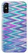 Moveonart Zig Zag Therapy One IPhone Case