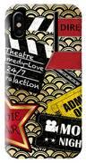 Movie Night-jp3613 IPhone Case