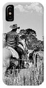 Moving Cattle IPhone Case