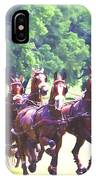 Moving Quickly IPhone Case