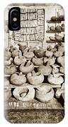 Mrs. Butts Mortar And Pestle Collection Found In San Benito Co. IPhone Case
