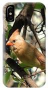 Mrs Cardinal IPhone Case