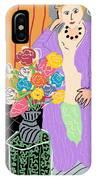 Mrs. Matisse IPhone Case