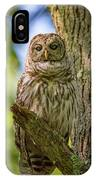 Mrs. Owl IPhone Case