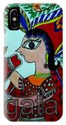 Love And Worship For Cow IPhone Case