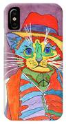 Mr.wisker For Peace IPhone Case