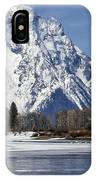 Mt Moran From Oxbow Bend IPhone Case