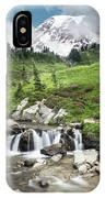 Mt Rainier Paradise Portrait IPhone Case