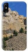 Mount Rushmore-2 IPhone Case