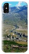Mt. St. Helens 2005 IPhone Case