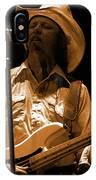 Mtb77#91 Enhanced In Amber IPhone Case