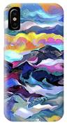 Mts. In The Sea IPhone Case
